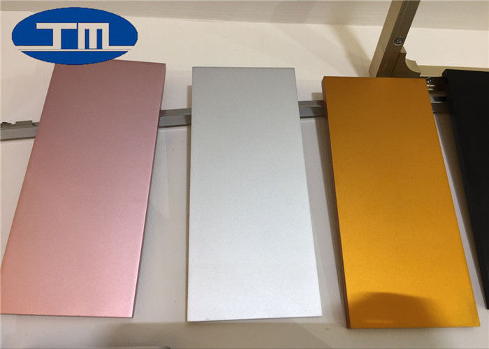 6063 5083 Polished Aluminum Sheet , Brushed Finish Anodized Aluminum Panels